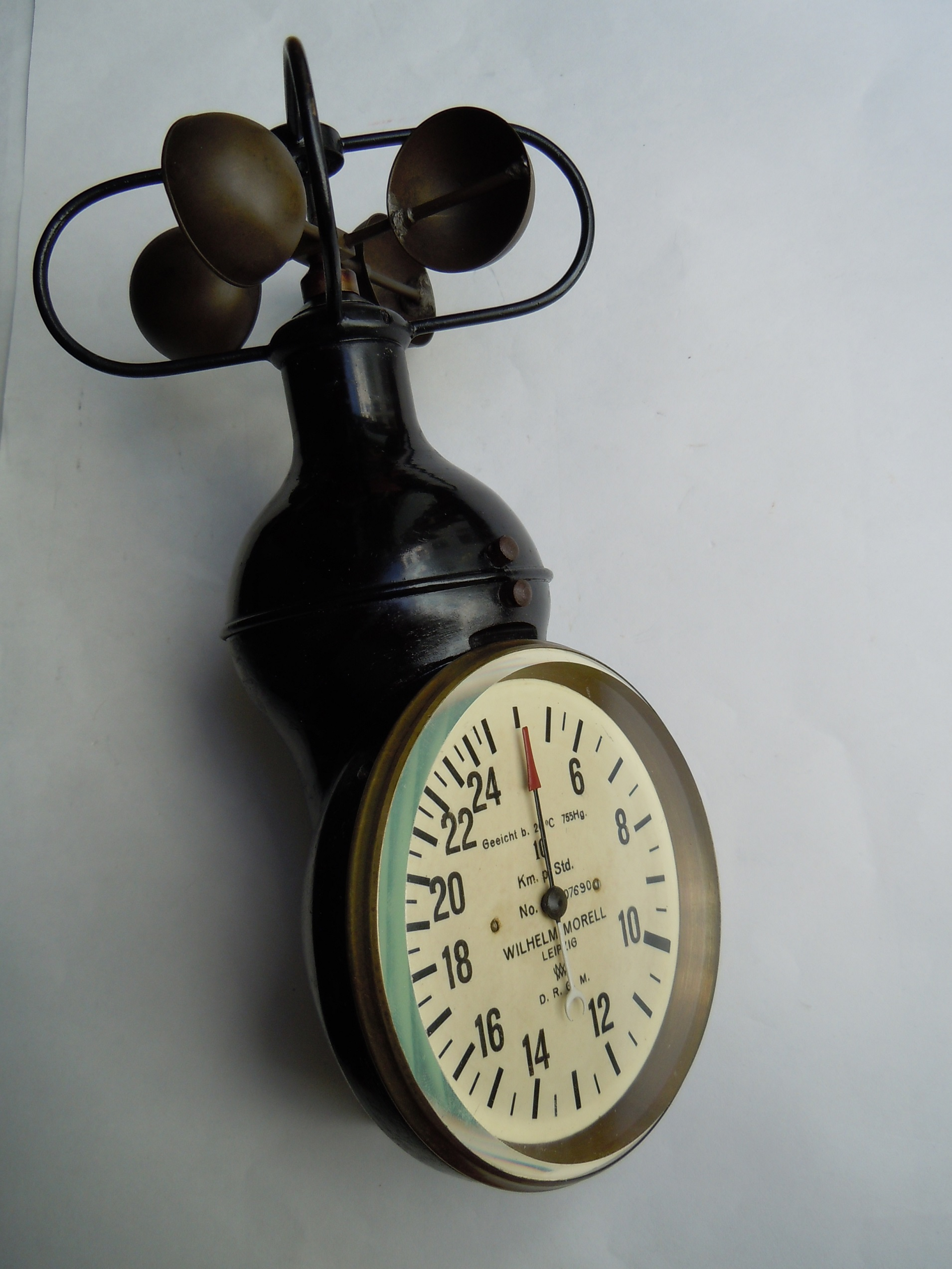 schalenkreuz anemometer morell 250 km h 1918 deutscheluftwaffe. Black Bedroom Furniture Sets. Home Design Ideas